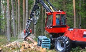 Aicina uz meža tehnikas demonstrāciju mežā