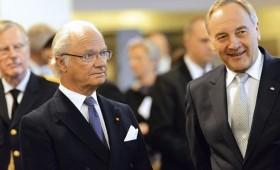 Zviedrijas karalis viesojas Latvijā