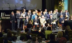 Godināti Meža nozares gada balvas «Zelta čiekurs» laureāti