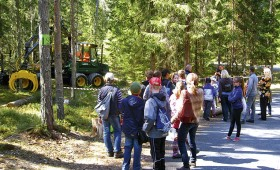 Meža dienās pulcē tūkstoti apmeklētāju