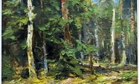 Mežs Latvijas mākslinieku gleznās