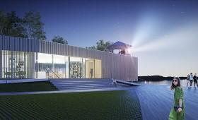 Alojā taps energoefektīva koka bibliotēkas ēka