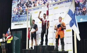 Pasaules kokgāzēju čempionātā – zelts