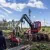 Komatsu mežizstrādes tehnika – aizvien biežāka izvēle Latvijā!