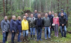 Izvērtēti sakoptākie mežu īpašumi meža nozares gada balvai «Zelta čiekurs»
