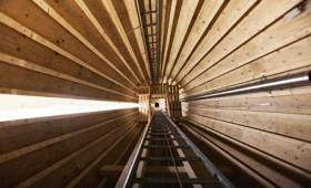 Zviedrijā uzstādīts pirmais koksnes vēja ģenerators