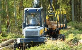 Veiks meža izstrādi